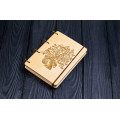 """Блокнот А6 """"Дерево"""" з натурального дерева на кільцях. Записна книжка. Альбом для малювання. Щоденник."""