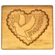"""Костери """"Гудзики"""" набір 4 штуки з натурального дерева (різ) (підставка під гарячі кружки)"""
