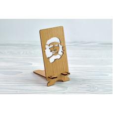 """Підставка для телефону """"Ернесто Че Гевара"""" з натурального дерева"""