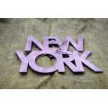 """Годинник настінний  """"New York"""" діаметр 30 см"""