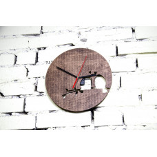 """Годинник настінний  """"Пташки"""" діаметр 30 см"""