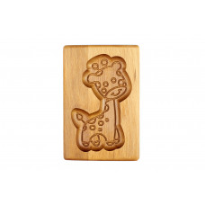 Пряникове дошка деревяна Жираф розмір 10*15*2см .Форма для формування пряників