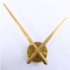 Годинниковий механізм золото (годинникова 32 см хвилинна 40 см)_