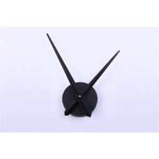 Годинниковий механізм чорний (годинна 32 см хвилинна 40 см)
