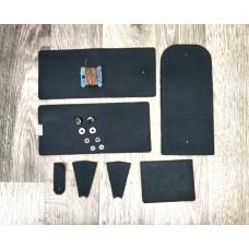 Заготівля для гаманця-портмоне з натуральної шкіри