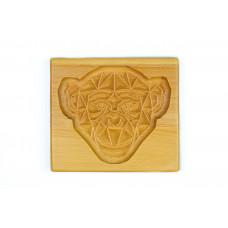 Пряничная дошка Весела мавпочка 17 * 15 (дошка для друкованого пряника) дерев'яна