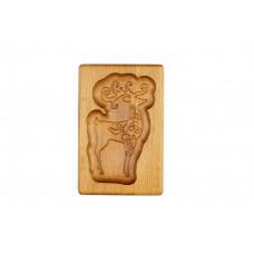 Пряничная дошка Казковий олень 10 * 15 (дошка для друкованого пряника) дерев'яна