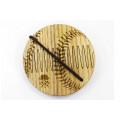 """Гребінь для бороди дерев'яний """"Бейсбол"""" на магнітах для бороди"""