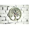 """Годинник настінний  """"Дерево"""" діаметр 30 см"""
