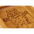 Пряничная дошка Пташка на гілці 15 * 15 (дошка для друкованого пряника) дерев'яна