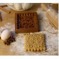 Пряничная дошка  Узор №2 13*13  (дошка для друкованого пряника) дерев'яна